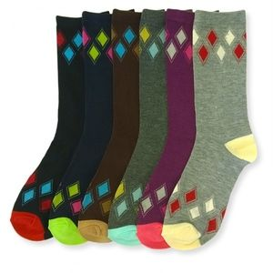 PACK OF 12 : Mid-Rise Socks Set 70501_ARG